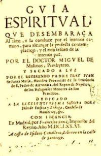 Guía Espiritual de Miguel de Molinos