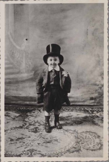 Eugene Ionesco as a child Paris 1913