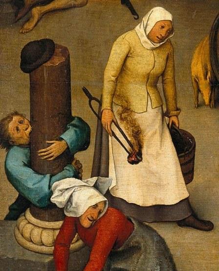netherlandish-proverbs-1559 - detalle