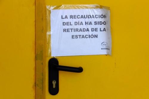 cartel gasolinera